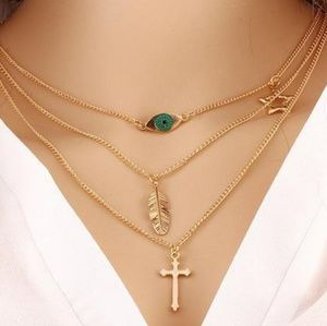 Jewelry - Back in Stock  3 Layer Charm Necklace